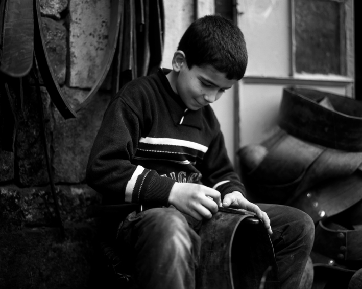 Enfant d'Alep - Syrie. ©Nicolas T. Camoisson